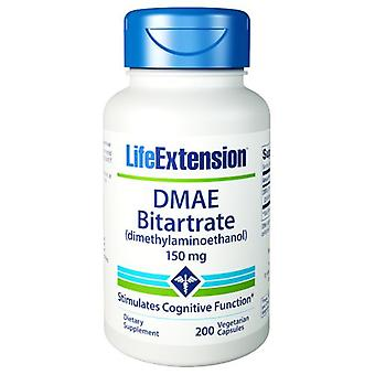 Life Extension DMAE Bitartrate, 150 mg, 200 Vcaps