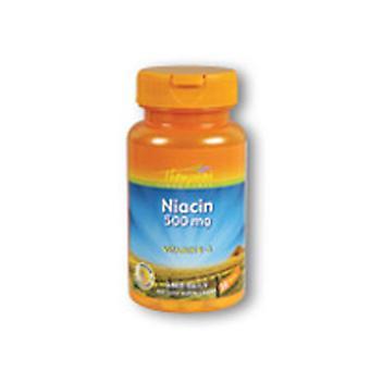 Thompson Niacin, 500 mg, 30 bouchons sans chasse d'eau
