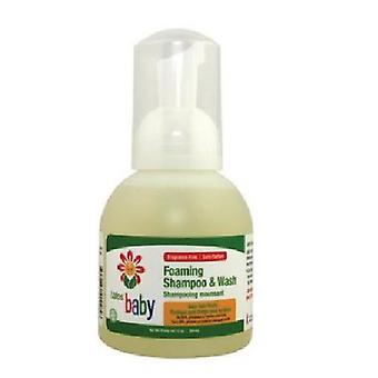 Lafes Natural Body Care Organic Baby Shampoo & Gentle Wash, 12 Oz