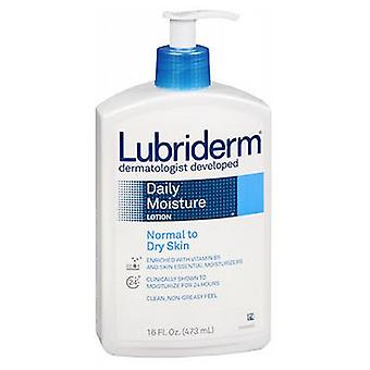 Lubriderm Daily Moisture Lotion, Noral to Dry Skin 16 oz