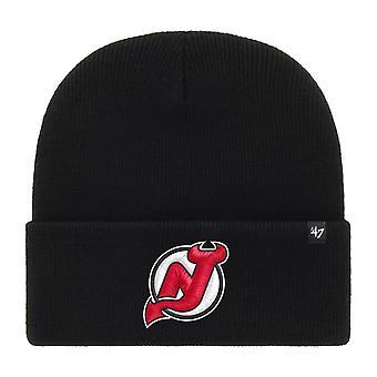 47 Brand Beanie Winter Hat - HAYMAKER New Jersey Devils