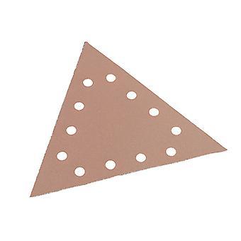 Flex Power Tools Sanding Paper Hook & Loop Triangle 120 Grit Pack 25 FLX349240