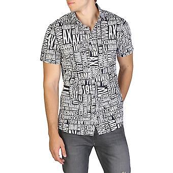 Armani tauscht Männer's Knopf befestigung lange Ärmel Hemden