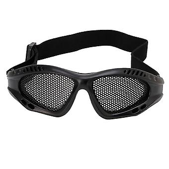Outdoor Eye Protective, Comfortable Airsoft Safety Tactical Glasses ,with Metal