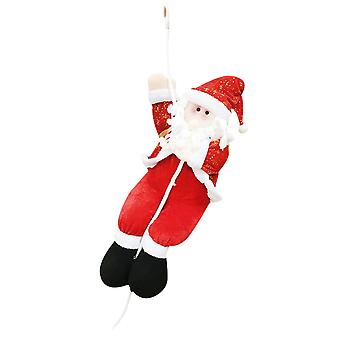 Homemiyn Rope Climbing Santa Claus Cloth Cute Pendant