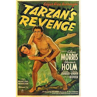 Tarzans Revenge Movie Poster (11 x 17)