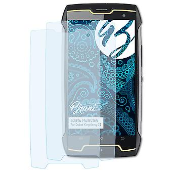 Bruni 2x Screen Protector compatible with Cubot King Kong CS Protective Film