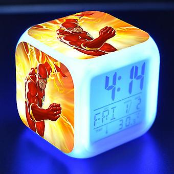 Colorful Multifunctional LED Children's Alarm Clock -The Flash Season 4 #9