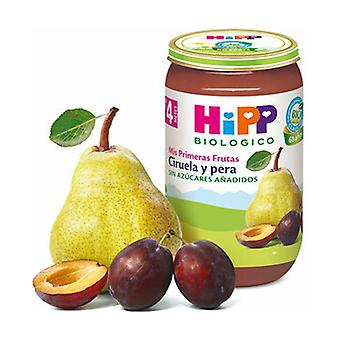Organic Plum and Pear Pot (4 months) 250 g