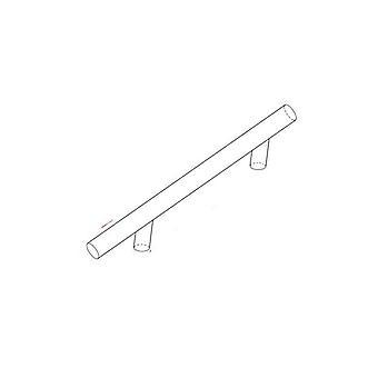 Kitchen Door T Bar Straight Handle Knobs Cabinet Stainless Steel Furniture
