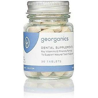 GeOrganicanics 30 Compresse Biologiche Integratore Dentale 30 x10