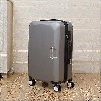 Carry-on Suitcase On Wheels Pink Purple Lovely Luggage Travel Trolley Bags Cute