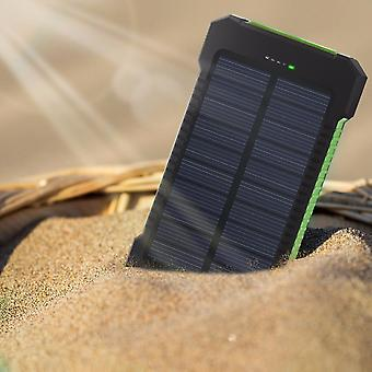 Xiaomi Iphone Samsung Powerbank Dual Usb Solar Charger Portable Externe