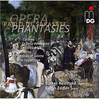 Volker Reinhold/ Ralph Zedler - Pablo De Sarasate: Opera Phantasies [SACD] USA import