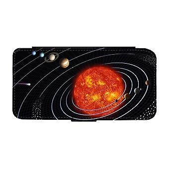 Custodia portafoglio Solar System iPhone 12 / iPhone 12 Pro