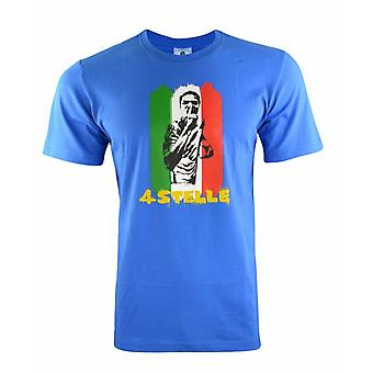 Adidas Sports 14 World Cup Italy Blue Mens T-Shirt Tee Short Sleeve G77804 RW76