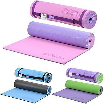 just be...… 10mm Thick 2-Tone Non Slip Exercise Yoga Pilates Mat