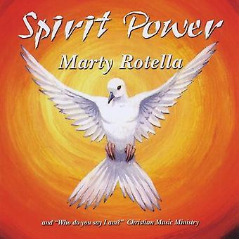 Marty Rotella - ånd magt [CD] USA import