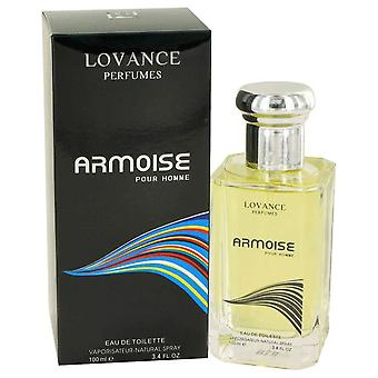 Armoise by Lovance Eau De Toilette Spray 3.4 oz / 100 ml (Men)