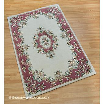 Royal Ivory Rose Tapis