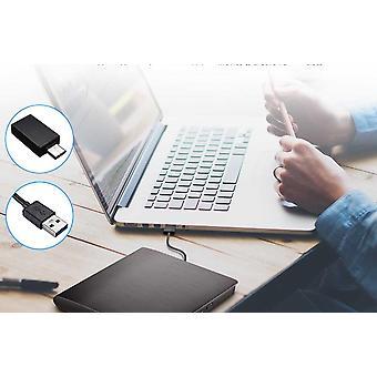 Externí Usb 3.0 Typ-c Vysokorychlostní Dl Dvd Rw Vypalovačka CD Zapisovač Slim Přenosný