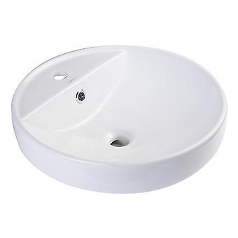 """Eago Ba141 18"""" ceramica rotonda sopra il lavandino del bacino del bagno del monte"""
