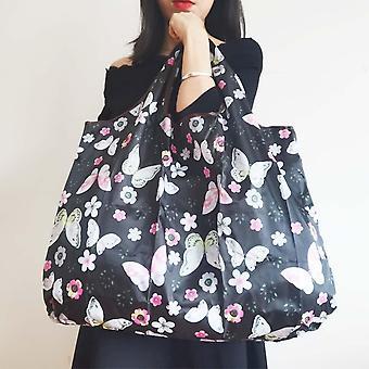 Folding Bag Nylon Foldable Reusable Shopping Bag / Eco / Grocery Bag