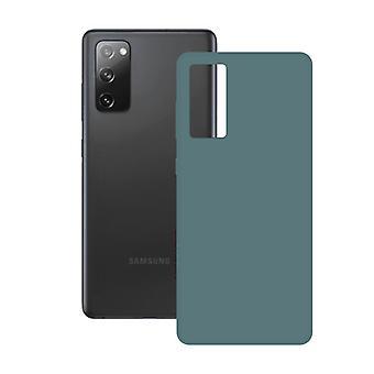 Mobildæksel Samsung Galaxy S20 FE 5G KSIX Silk TPU Green