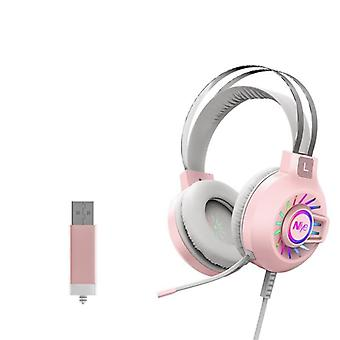 Headset Gamer Wired Usb Pc Computer