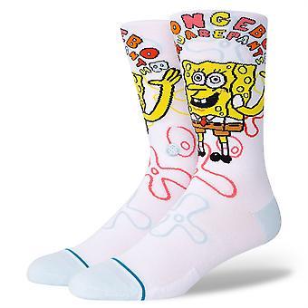 Stance Men's Socken - Imagination Bob weiß