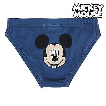 Children's bathing costume mickey mouse red blue