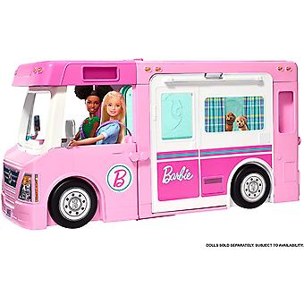 Barbie 3-in-1 DreamCamper ajoneuvo ja tarvikkeet