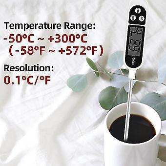 Thermomètre numérique de cuisine pour la cuisson de viande, four électronique de bbq de sonde de nourriture