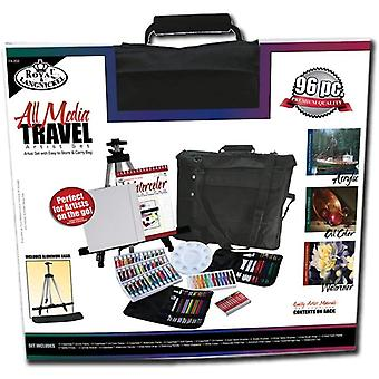 Royal and Langnickel All Media Travel Artist Set