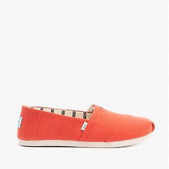 TOMS Alpargata Ladies Canvas Espadrille Chaussures Paprika