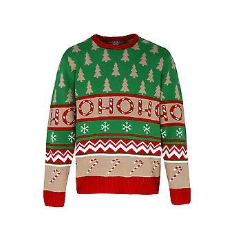 Christmas Shop vuxna Unisex Ho Ho Ho jul Jumper/tröja