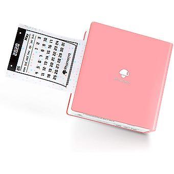Wokex M02 Taschendrucker Bluetooth Drucker Thermofotodrucker Tragbarer Mini Drucker, Kompatibel mit