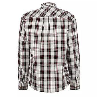 Regatta Mens Lothar langermet sjekk mønstret skjorte