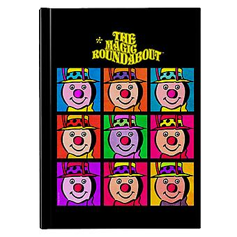 The Magic Roundabout Brian Pop Art Hardback Journal