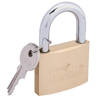 Draper 68023 50mm Redline cadeado de bronze com chaves