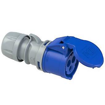 PCE 213-6tt CEE CA-kontakt 16 A 3-stifts 230 V 1 st