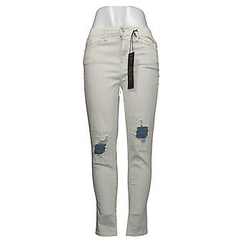 DG2 af Diane Gilman Women's Jeans Stretch Ultra Skinny White 740964