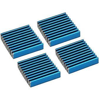 Wokex 33955H4er Pack RAM-Kühler, selbstklebende Kühlrippen