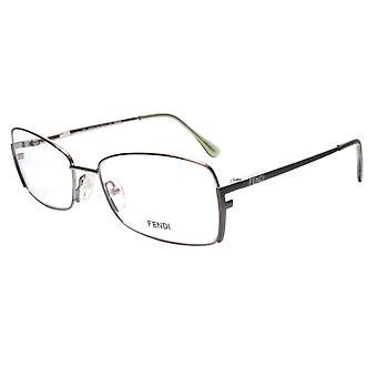 FENDI Eyeglasses Frame F959 (756) Metal Golden Sage Italy Made 54-16-135, 33
