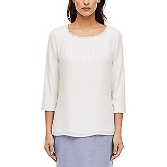 s.Oliver BLACK LABEL T-Shirt 3/4 Arm, 0200 Soft White, 38 Woman