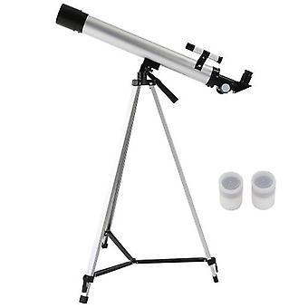Ulkokäyttöön 100X Zoom Telescope 600x50mm Taittotila Tähtitieteellinen teleskooppi Monocular Travel Spotting Scope kolmijalalla