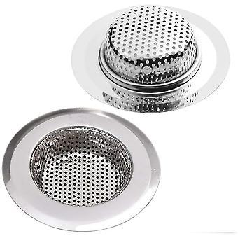 2pcs Kitchen Sink Strainer Drain Screen For Kitchen/bathroom Sink
