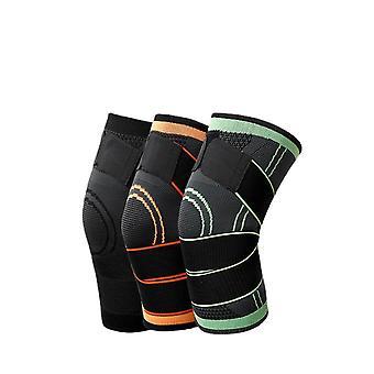 1 Paar Kniepolster Sport Fitness komfortabel verstellbaren Gelenk protektor