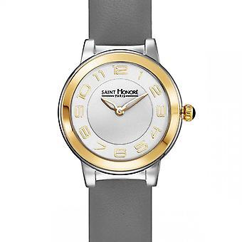 Women's Watch Saint Honor Paris LUTECIA Mini - 7210574ABT-G Grey Leather Strap