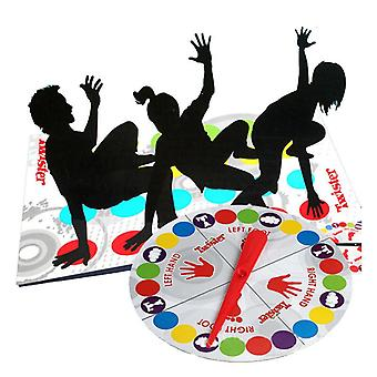 Twister Game Indoor Outdoor Toys Fun Game Twisting the body For Children Adult Sports Interactive Group Toy